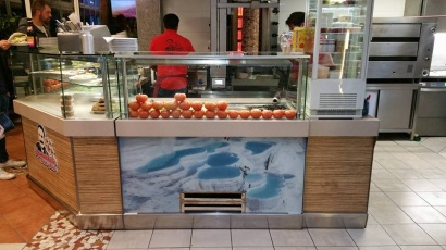 Pamukkale Kebab Haus in Germany CE Glass Industries reference